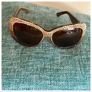 3230c2f493ed Jimmy Choo Accessories - Jimmy Crystal Swarovski Crystal Sunglasses